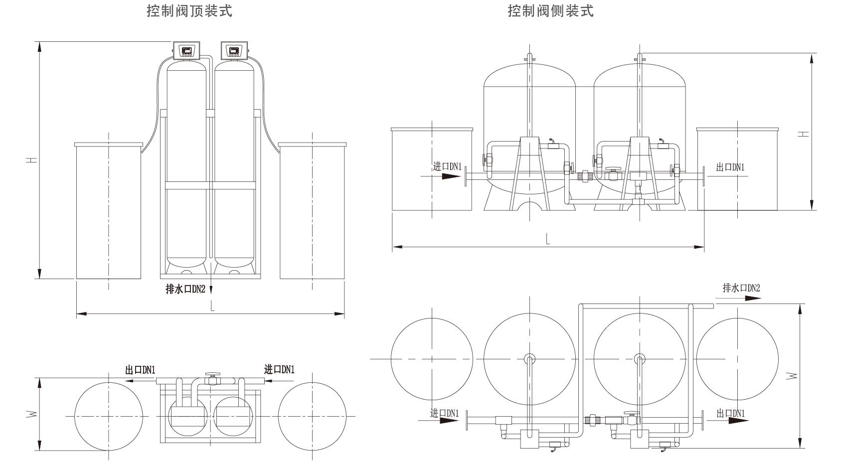 软水器的原理_软水机工作原理-软水机原理图